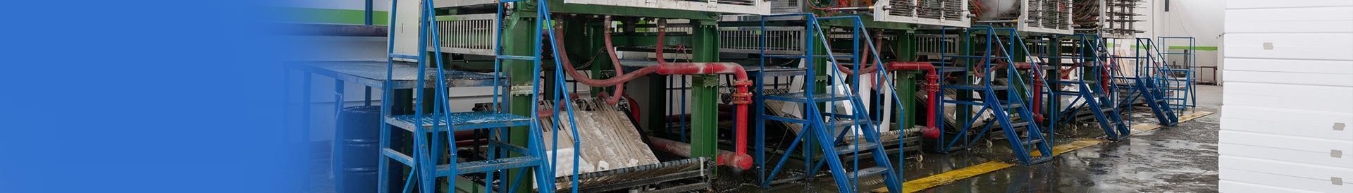 Maszyny do produkcji wyrobow z polisterynu spienialnego banner - styromat
