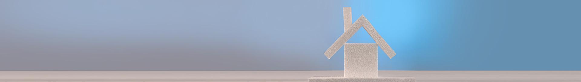 Styropianowy domek banner - styromat